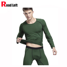 Cotton Soft Comfortable Men's Thermal Underwear Sets 4 Colors Size M/L/XL Men O-neck Top Long Johns Leggings Warm Sleepwear Suit