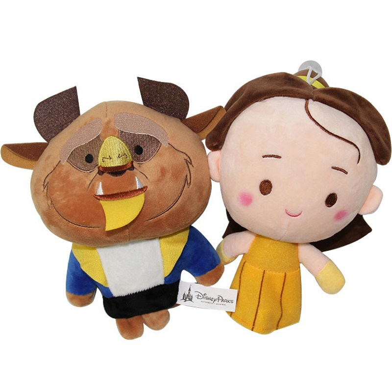Beauty and The Beast Plush Toy Dolls for Children Gifts Princess Belle Doll Fairy Tale Movie Stuffed Soft Toys Girls Gifts 22cm toys for children dolls girls plush snorlax model birthday gifts cross stitch knuffel doudou stuffed animals soft toy 70a0513