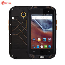 Agm а2 рио 4 г смартфон 4.0 дюймов android 5.1 msm8909 quad Core 1.1 ГГц 2 ГБ RAM 16 ГБ ROM IP68 Водонепроницаемый Функция OTG 2600 мАч летучая мышь