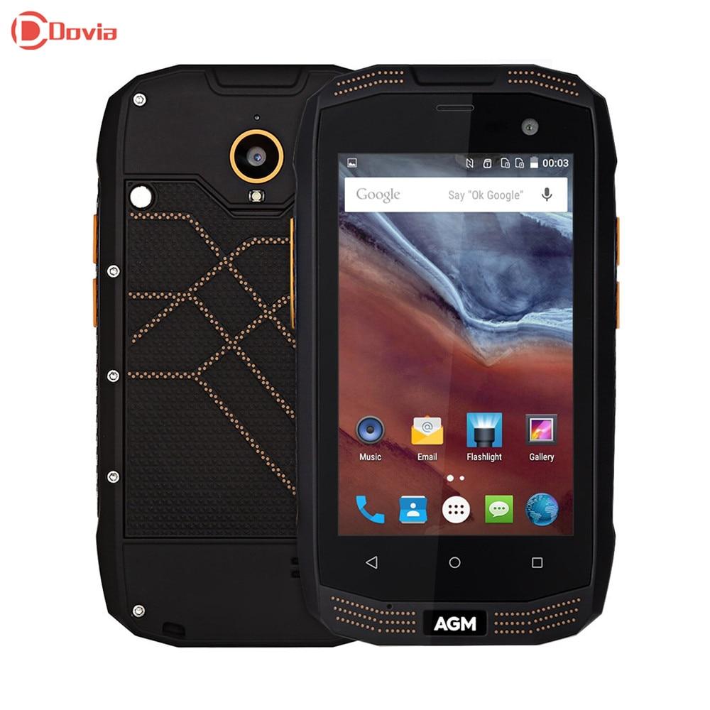 bilder für Agm a2 rio 4g smartphone 4,0 zoll android 5.1 msm8909 quad Core 1,1 GHz 2 GB RAM 16 GB ROM IP68 Wasserdicht OTG Funktion 2600 mAh Bat