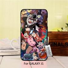 Novelty Fundas phone case Cover For case J1 2015 gravity falls cartoon happy