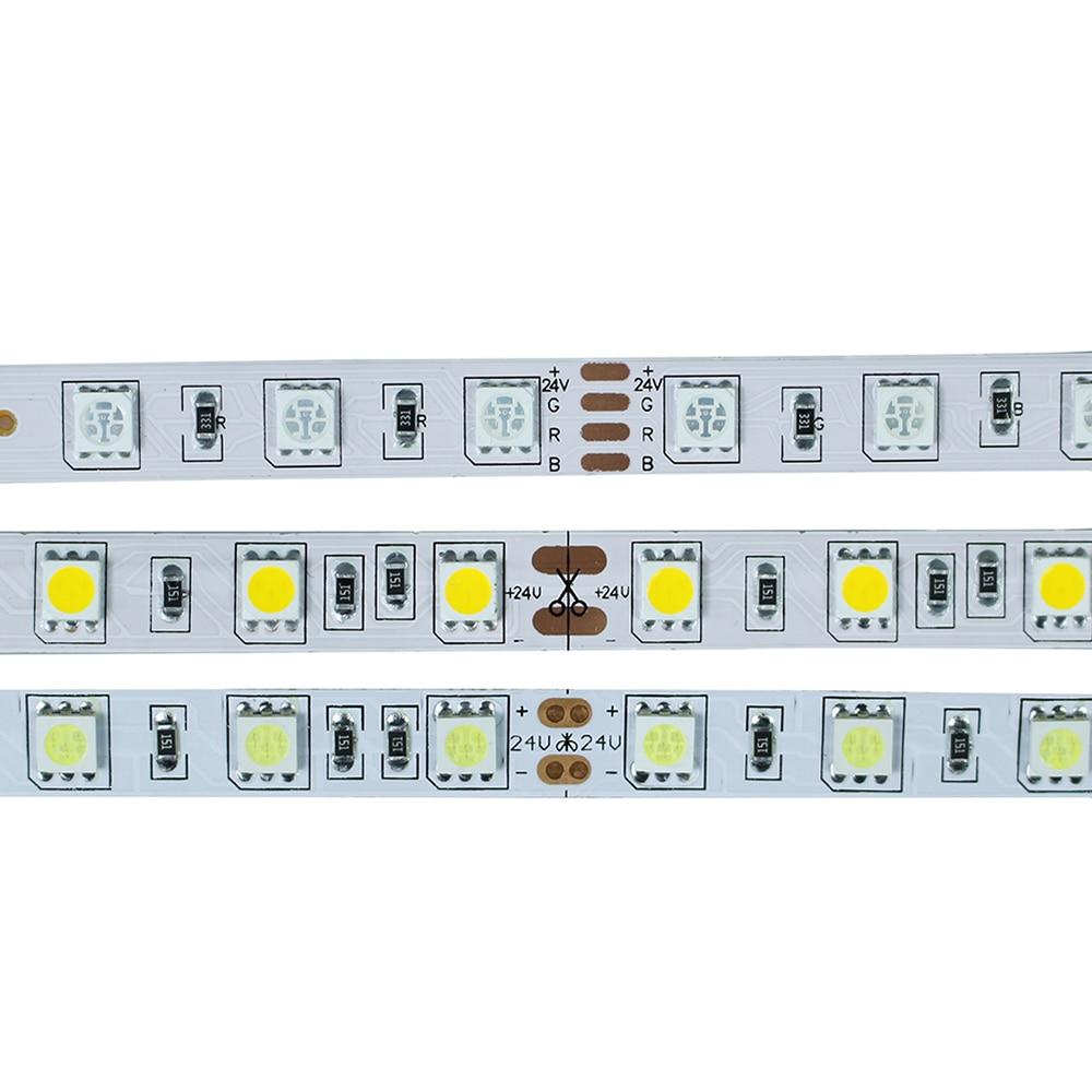 DC24V nem vízálló 5050 RGB Led szalagfény 5M 300Leds 60Leds / M - LED Világítás - Fénykép 1