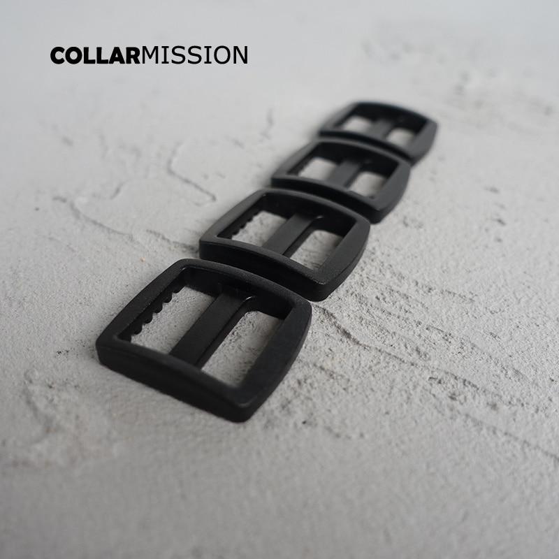 Dobladillo Hebilla Deslizante 30 Mm x 16 mm Negro Níquel-Paquete de 2