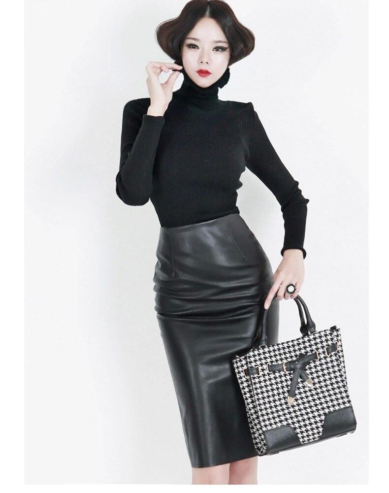 Wonderful Women_WomenClothing_Skirts_Formal Black Short Skirt