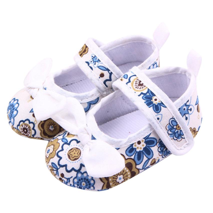 LONSANT first walker 2018 Fashion Cute Baby Soft Sole Crib Warm Walker Shoes baby girl shoes Dropshipping Wholesale