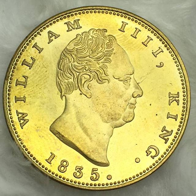 New Products East British India Company Gold Coin 1835 William Iiii King Two Mohurs Br Metal
