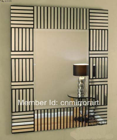 Wood Framed Wall Mirrors curved wall mirror promotion-shop for promotional curved wall