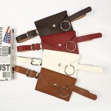 Большой различный модный креативный Конверт Сумка ремень мобильный телефон сумка ремень леди индивидуальный пояс украшение