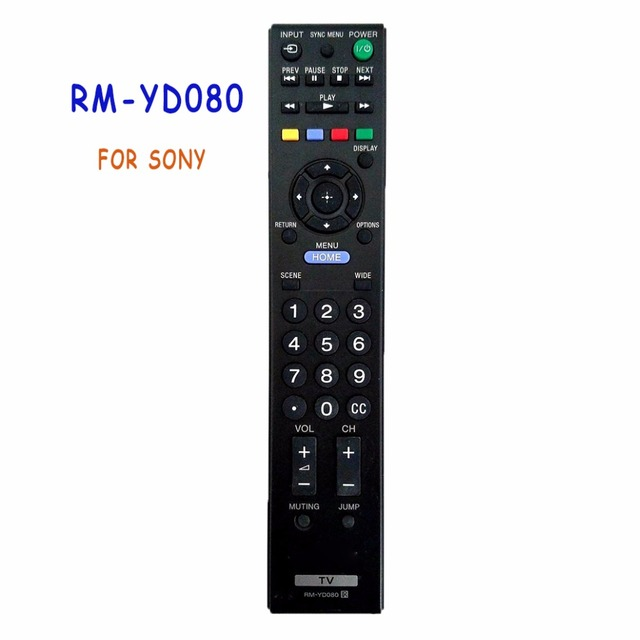 New Replacement RM YD080 Fit for RM YD081 Remote Control For SONY LCD LED TV KDL 22EX355 KDL 22EX357 TV Commander Controller