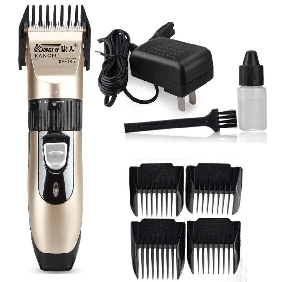 Professional Hair Clipper Hair Trimmer For Men Electric Cutter Hair Cutting Machine Haircut For Barber Titanium Blade  недорого