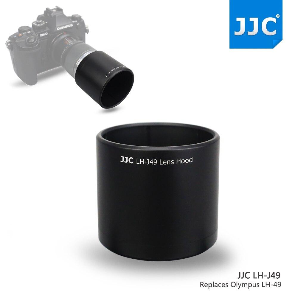 JJC LH-J49 Lens Hood Ombre pour Olympus M. ZUIKO DIGITAL ED 60mm f2.8 Macro Objectif Remplacer Olympus LH-49