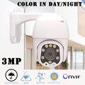 CTVMAN PTZ IP камера 4X Zoom Wifi камера наружная HD 3MP инфракрасная/Цветная камера ночного видения Onvif аудио Беспроводная купольная камера наблюдения