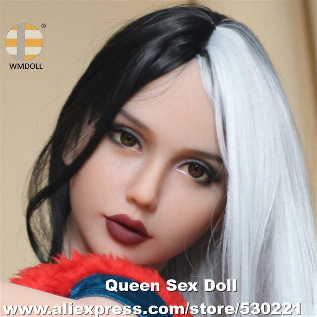 トップ品質 #233 WMDOLL セックス人形ヘッド現実的な経口大人のおもちゃメーカー中国愛人形金属スケルトンヘッド男性セクシーな