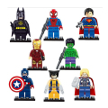 Avengers Marvel DC Super Hero Star Wars Mini Building Blocks Bricks Kids Toys Superman Batman Movie Spiderman Legoes Compatible