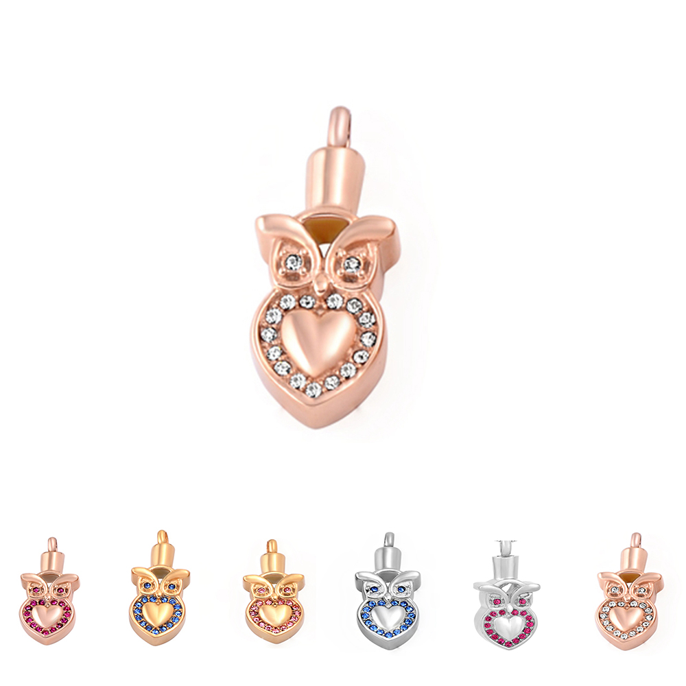 Lovely Eagle Urns Jewelry Pet Ashes Keepsake Stainless ...