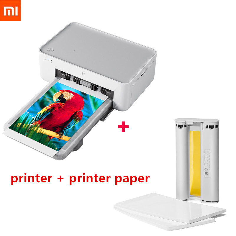 Xiaomi Mijia Photo Printer Heat Sublimation Finely Restore True Color Auto Multiple Wireless Remote Portable printer with paper-in Smart Remote Control from Consumer Electronics on Aliexpresscom  Alibaba Group