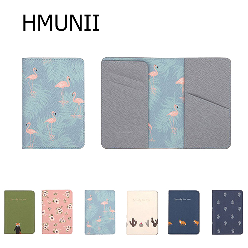 Exotic Ocean Animals Octopus Art Fashion Leather Passport Holder Cover Case Travel Wallet 6.5 In