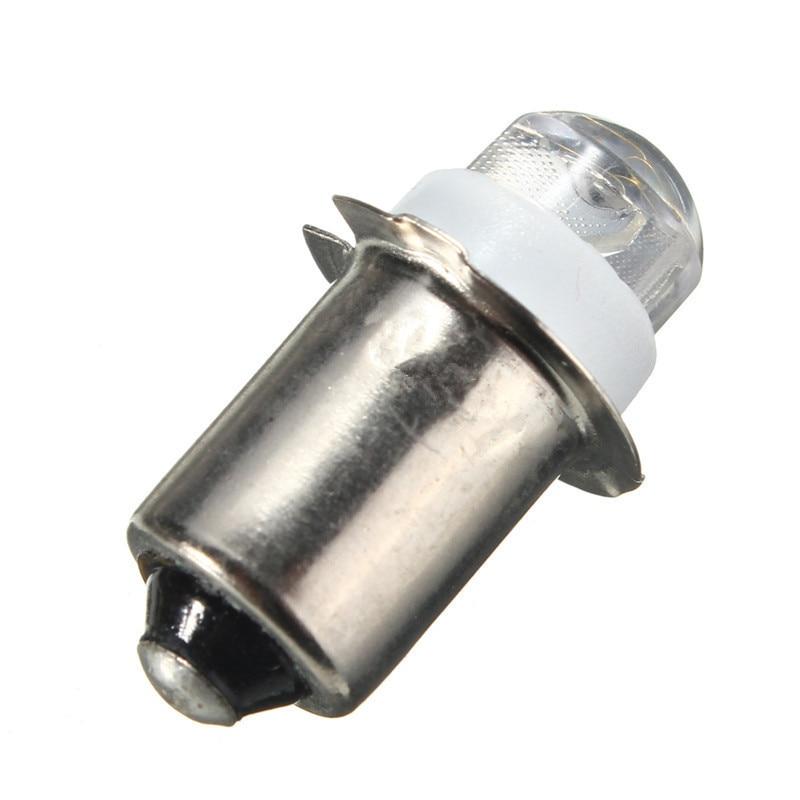 P13.5S PR2 1W Warm//White Led FlashLight Bulb High Brightness Lamps 90lm DC 9UK