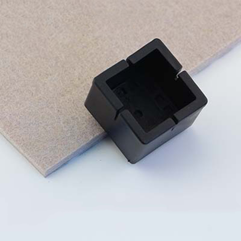 4 Pcs Square Table Foot Cover Table Foot Cover Non-slip Chair Leg Caps PVC Table Foot Protector Furniture Leveling Feet