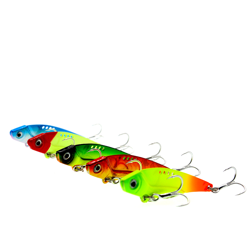 Image 2 - WLDSLURE 5Pcs 12g Iron Plate Metal lead VIB Fish Bait Sinking Sea Fishing Lure Reflective Body High Quality Fishing Tackle-in Fishing Lures from Sports & Entertainment