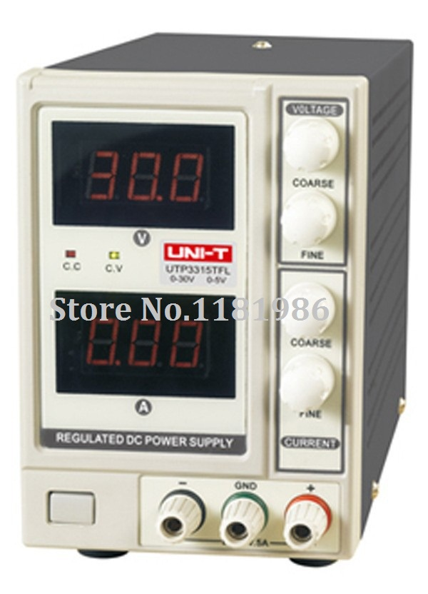 UNI-T UTP3315TFL DC Power Supply Limitation Output Voltage Current 0~30V 0~5A Power Source dc power supply uni trend utp3704 i ii iii lines 0 32v dc power supply