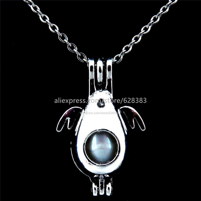 Aliexpress buy glowcat vp201 sea lion natural pearl cage glowcat vp201 sea lion natural pearl cage locket necklace aromatherapy essential oil vintage pendant akoya oyster mozeypictures Image collections