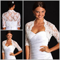 2015 Top Fashion Actual Image Crocheted for Sweetheart Dresses Bridal Coat Wrap Wedding Bolero
