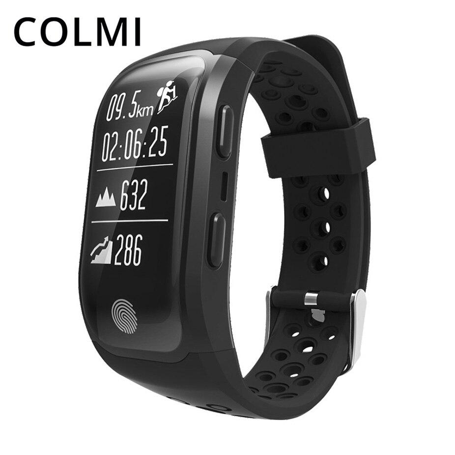 COLMI GPS Smart Bande IP68 Étanche Sport Bracelet Multiples Moniteur de Fréquence Cardiaque Podomètre Fitness Bracelet S908 Smartband