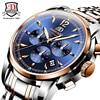 Luxury Brand BINKADA Fashion Male Steel Strap Automatic Mechanical Watches Men S Sports Military Wrist Watch