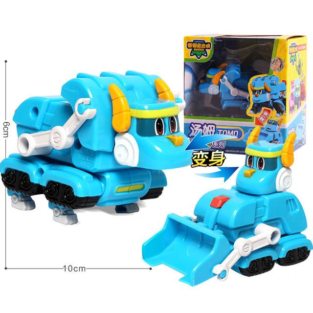Newest Min Gogo Transformation Dinosaur Car