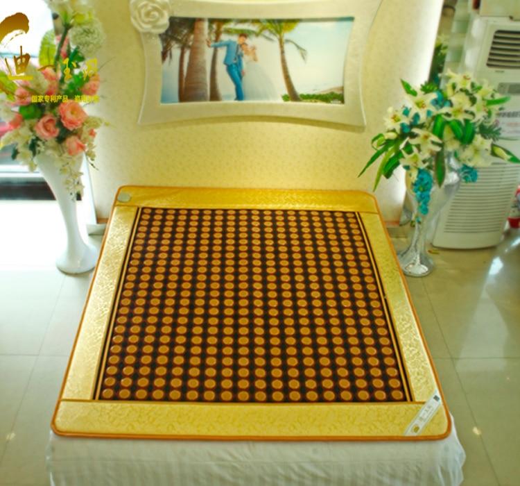 2015 Free shipping tourmaline heating mattress infrared massage mat thermal pad massage mattress 1.0X1.9M infrared heating health products japan mattress thermal massage bed jade 2015 new massage mattress free shipping