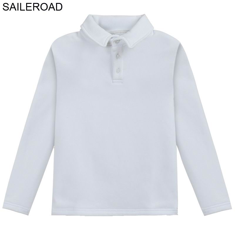 SAILEROAD Casual Clothes for Girls 12 Year Polo Boys Shirts Teenager Polo Shirt Cotton Blouses for School for Kids School Shirts