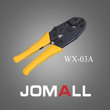 Купить с кэшбэком WX-03A crimping tool crimping plier 2 multi tool tools hands  Ratchet Crimping Plier (European Style)  high quality