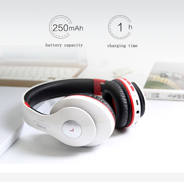 Bluetooth Headphone Wireless With MIC Sound Intone Support TF Card FM Radio Stereo Bass Headset For Computer iPhone Xiaomi super bass audio stereo wireless bluetooth headphones headset handsfree with micphone support tf card fm radio headphone headset