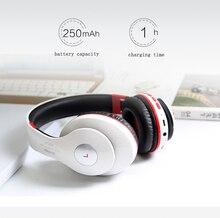 Bluetooth Para Auriculares Inalámbricos Con MICRÓFONO Sonido Entonan el Apoyo TF Tarjeta de Radio FM Estéreo Bass Auriculares Para Ordenador iPhone Xiaomi