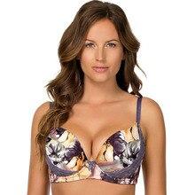 Большой размер, женский бюстгальтер, большая грудь, пуш-ап, сексуальное кружевное нижнее белье с принтом, высокое качество, полная чашка, C-D-DD-DDD-E-F-FF-G, № 2801