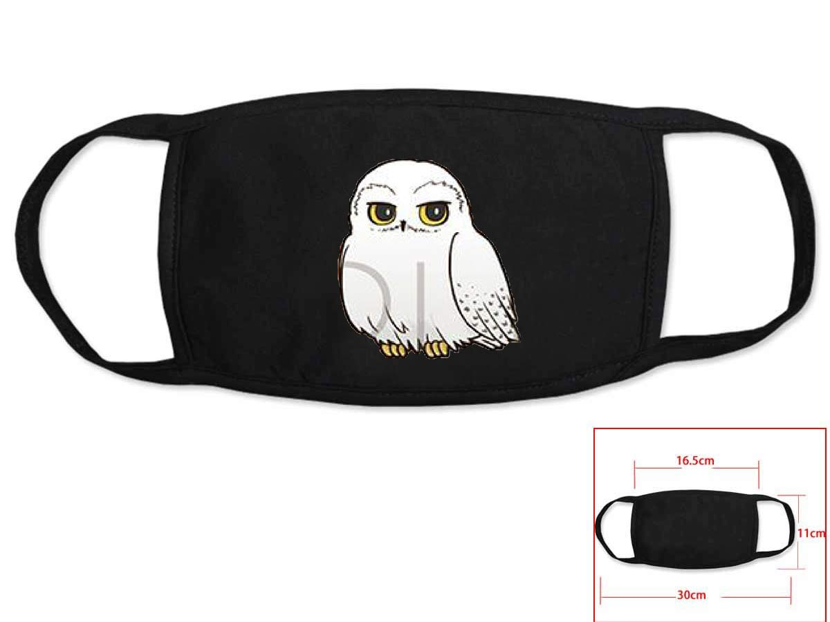 Fashion Movie Harry Cosplay Black Face Collection Gift Hip Hop Fashion Mask Unisex With Harry Logo