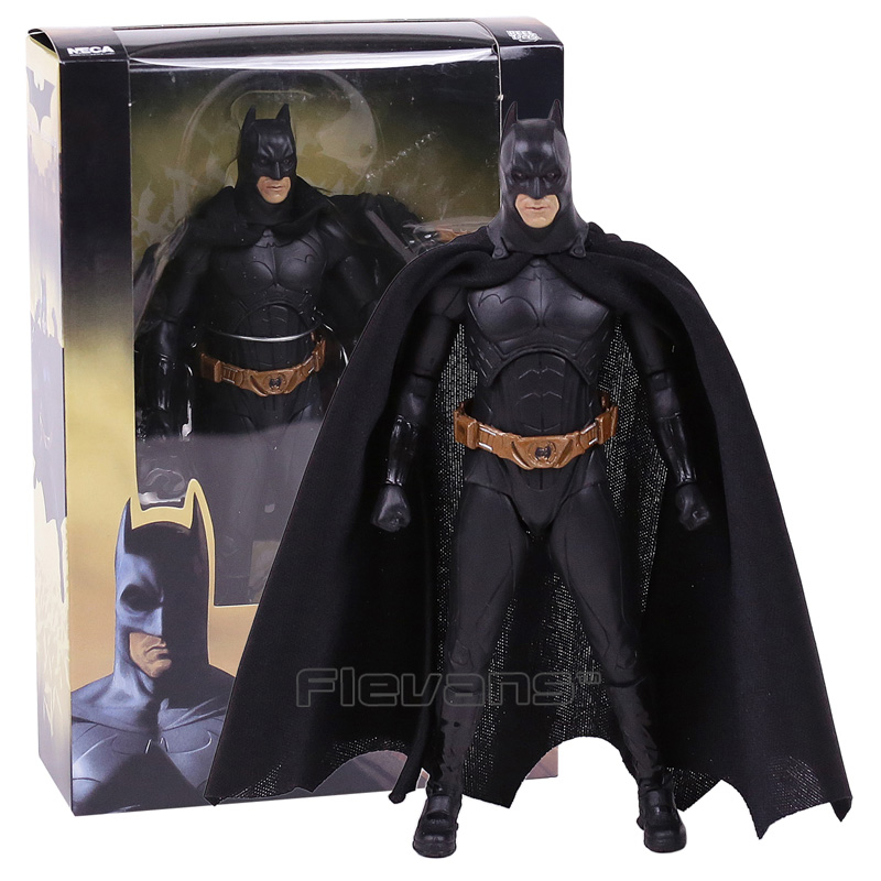 NECA Batman Begins Bruce Wayne PVC Action Figure Collectible Model Toy 7inch 18cm neca dc comics batman superman the joker pvc action figure collectible toy 7 18cm 3 styles