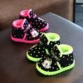 Ребенок ботинки мальчик Мартин сапоги зима 2016 новая детская обувь сапоги непромокаемые утолщение