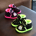 Child boots boy Martin boots boots winter 2016 new baby shoes boots waterproof thickening