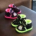 Criança botas menino Martin botas botas botas de inverno 2016 novos sapatos de bebê à prova d' água espessamento