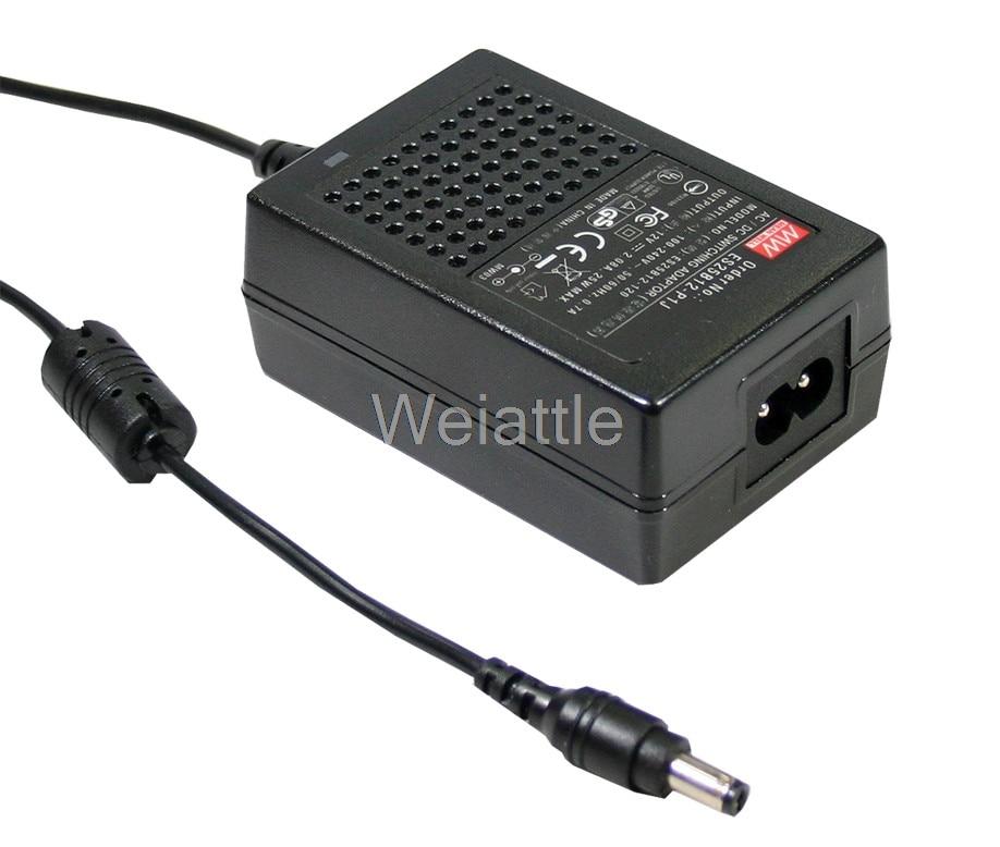 MEAN WELL original GS18B28-P1J 28V 0.64A meanwell GS18B 28V 18W AC-DC Industrial Adaptor