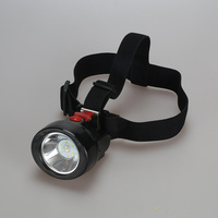 Led Miner Cap Lamp Head Lamp 1W For Hunting Mining Camping Working Light Free Shipping KL2