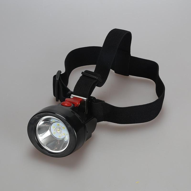 10pcs Led Miner Cap Lampa Lampa 1W za lov Rudarstvo Kampiranje radno - Prijenosna rasvjeta