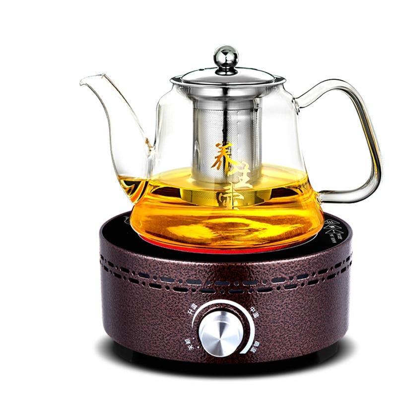 AC220 240V 50 60hz mini electric ceramic stove boiling tea heating coffee 800w power cooker tea pot heater