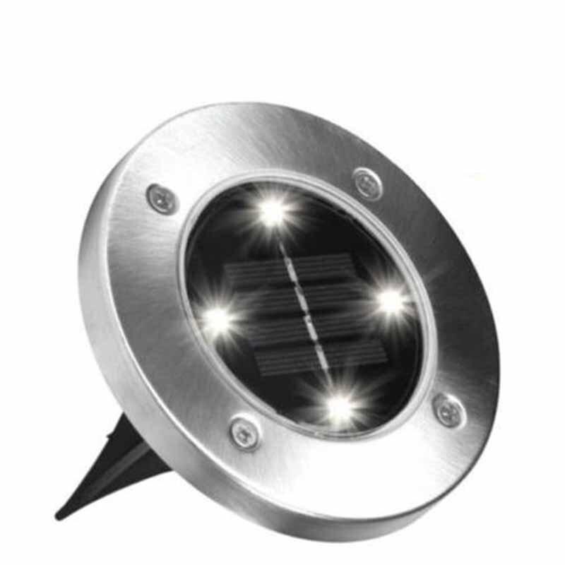 Solar Garden Disk Light 1