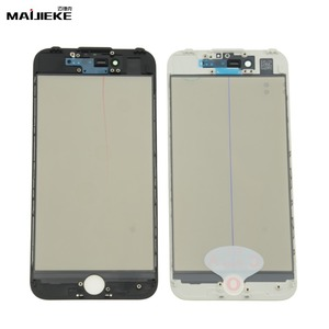 Image 2 - MAIJIEKE 4 in 1 Cold Press Front Screen Outer Glass+Frame OCA+Polarizer For iPhone 8 7 6 6s plus 5 5s Screen Glass Replacement
