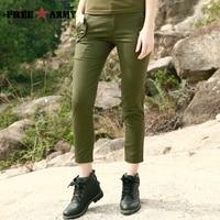 FreeArmy Summer Pants Women Camouflage Jogger Pants Lady Pants Pantalon Femme Trousers Slim Sweatpants Cotton Pencil Pants Plain