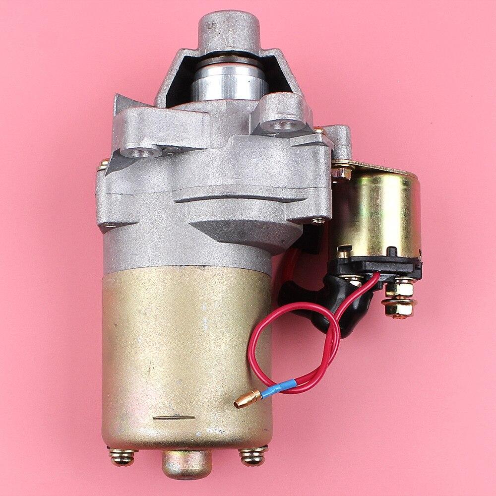 купить Starter Motor For Honda GX160 GX200 5.5HP 6.5HP GX 160 200 4 Stroke Lawn Mower Generator Engine Motor Part недорого