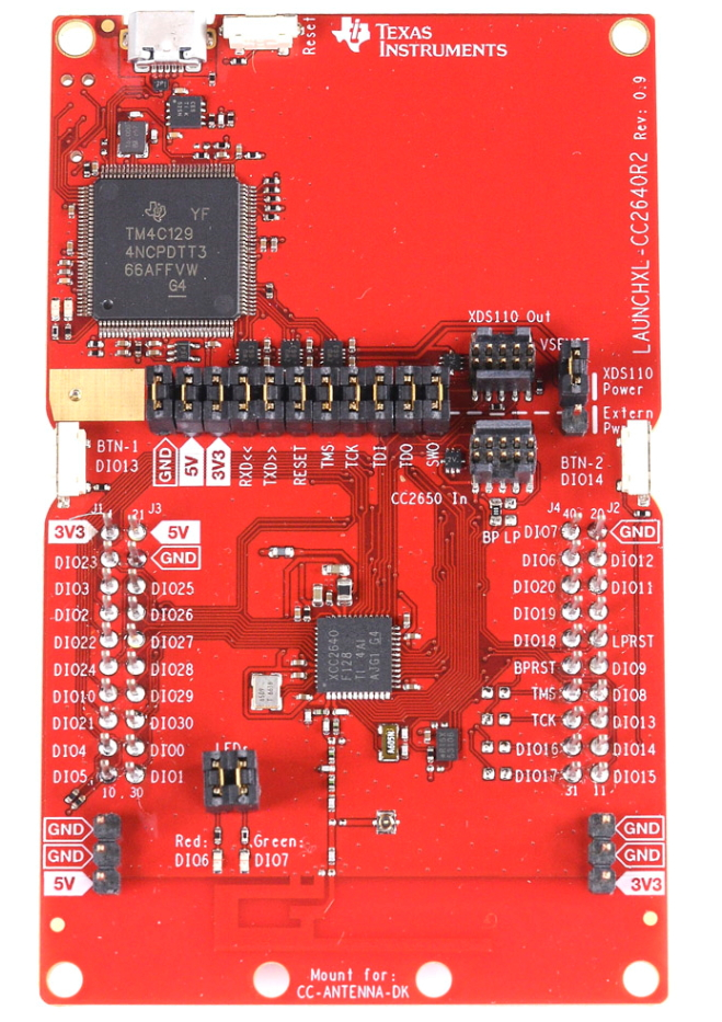 LAUNCHXL-CC2640R2 LaunchPad CC2640R2FLAUNCHXL-CC2640R2 LaunchPad CC2640R2F